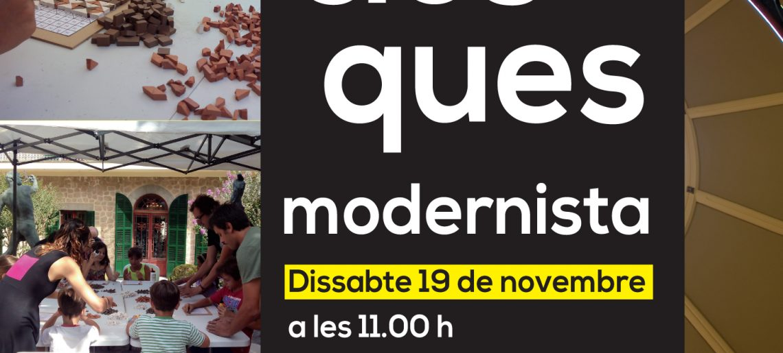 Taller «Trencaclosques modernista»