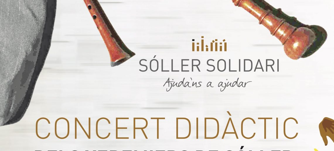 Didactic concert of the Xeremiers of Sóller and brochette