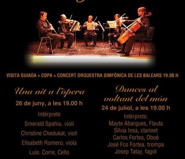 II Ciclo de música en el jardín 2012